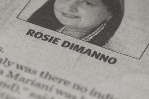 Rosie DiManno