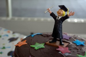 Graduation Cake by CarbonNYC - image used under a Creative Commons Licence.