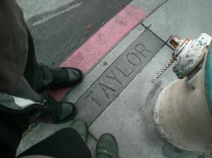 Trash on Taylor Street, SF