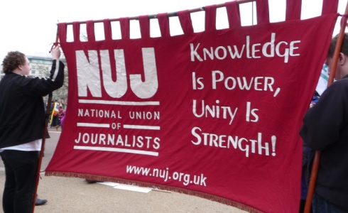 NUJ Protest
