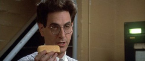 """That's a Big Twinkie"" Harold Ramis as Dr Egon Spengler in Ghostbusters (1984)"