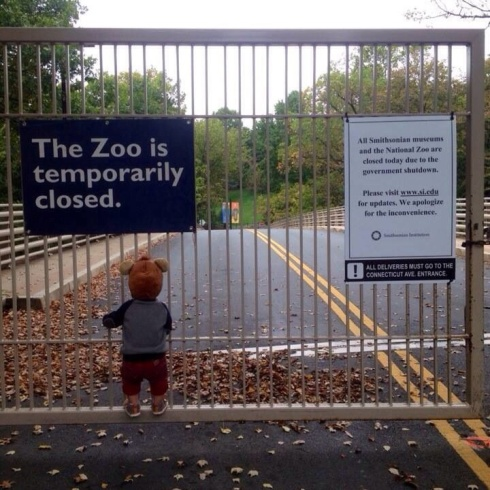 Government shutdown image courtesy of Reddit
