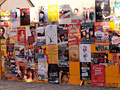 2011 Edinburgh Festival Fringe image by zoetnet, shared under a Creative Common Licence